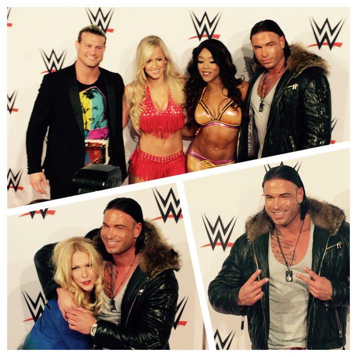 Wrestling Main Event WWE mit Tim Wiese live in frankfurt 14.11.2014