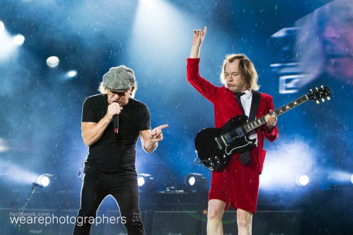 Konzertfotos AC/DC in München Olympiastadion - 19.05.2015