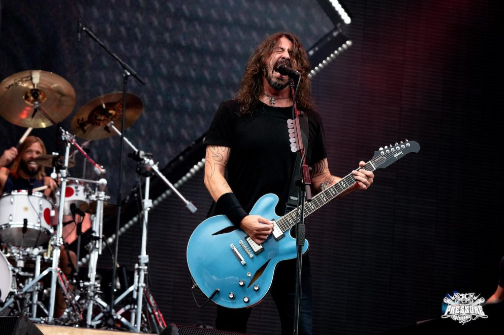 Dave Grohl von Foo Fighters (2018) - Konzertfoto: Mario Schickel
